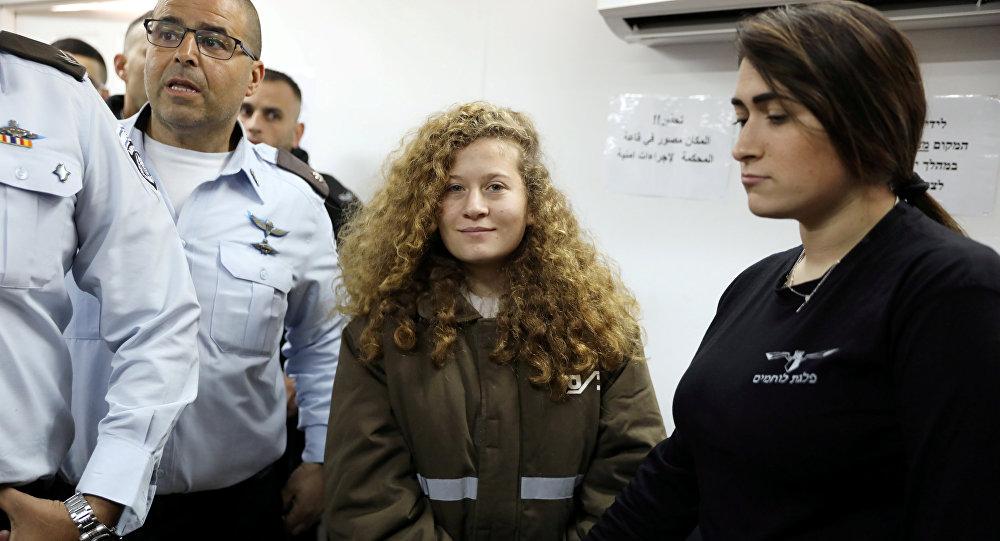 Photo of إسرائيل تطلق سراح الفتاة الفلسطينية عهد التميمي