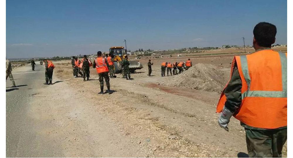 """Photo of """"قسد"""" تسلم السلطات السورية 35 جثمانا عثر عليها بمقبرة جماعية في ريف الرقة"""