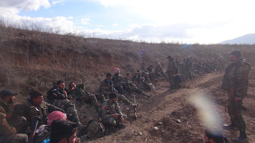 بالصور- الجيش يحشد لعملية وشيكة لاجتثاث إرهابيي إدلب