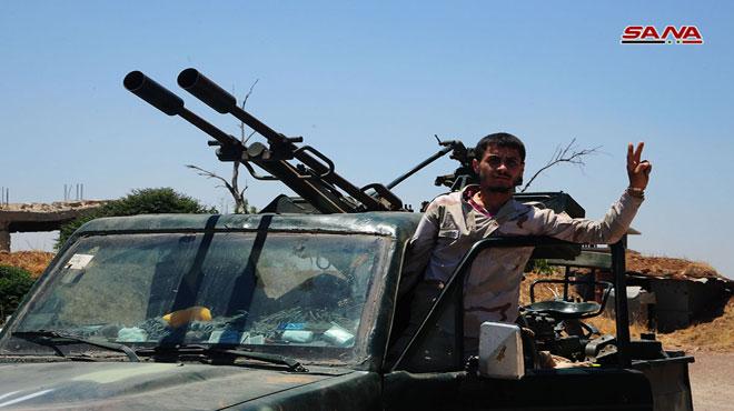 Photo of الجيش يحرر بلدة النعيمة شرقي درعا