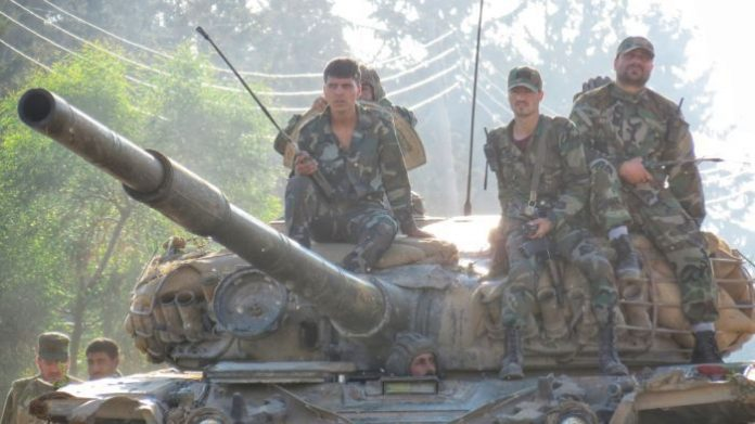 "Photo of الجيش يدخل درعا البلد.. وقريباً درعا بالكامل""محررة"""