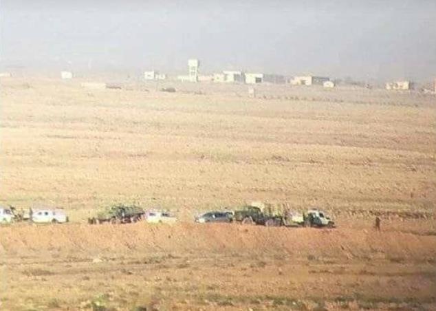 Photo of يالصور -الجيش العربي السوري في معبر نصيب الحدودي