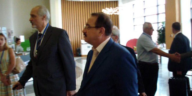 Photo of وفد سوريا إلى محادثات أستانا يلتقي وفدي طهران وموسكو في سوتشي