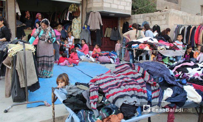 """Photo of وزارة التجارة تتراجع عن قرار إغلاق محلات الألبسة المستعملة """"البالة"""""""