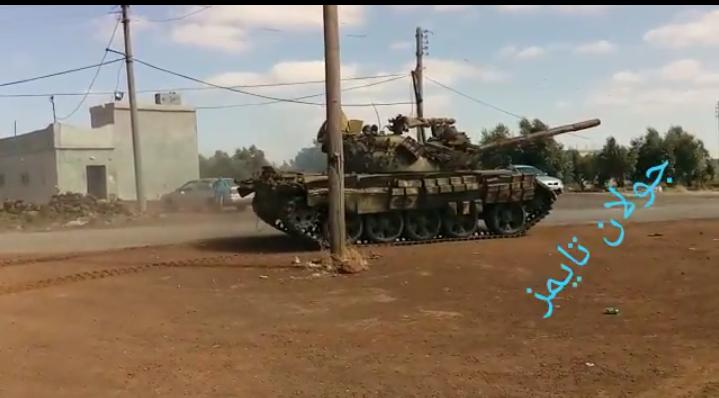 Photo of بريقة وبير عجم ورويحنة بريف القنيطرة يسلمون اسلحتهم للجيش