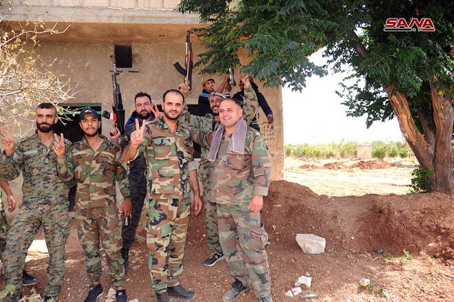 Photo of الجيش يٌسيطر على 14 قرية وبلدة بريفي درعا والقنيطرة