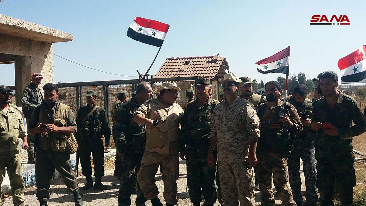 Photo of وحدات الجيش تدخل بلدة الحميدية بريف القنيطرة