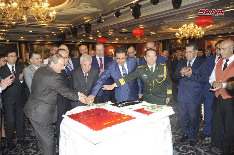 Photo of الملحق العسكري في السفارة الصينية بدمشق: نجدد دعمنا لسوريا