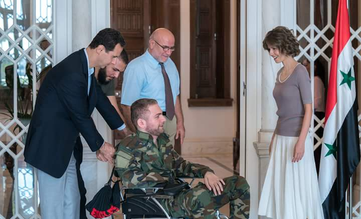 Photo of بالصور السيد الرئيس بشار الأسد يلتقي بعدد من جرحى الوطن الناجحين بشهادتين التعليم الأساسي و الثانوي