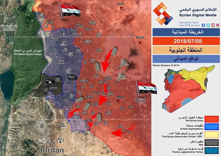 Photo of الجيش يسيطر على نصف قطاع المنطقة الجنوبية