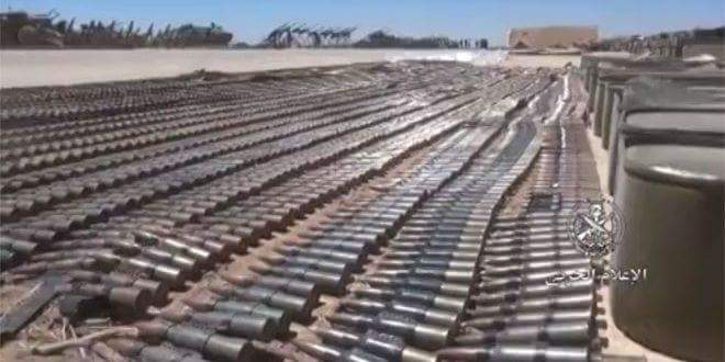 Photo of Syrian Army discovers US-made weapons left behind by terrorists in Daraa eastern countryside