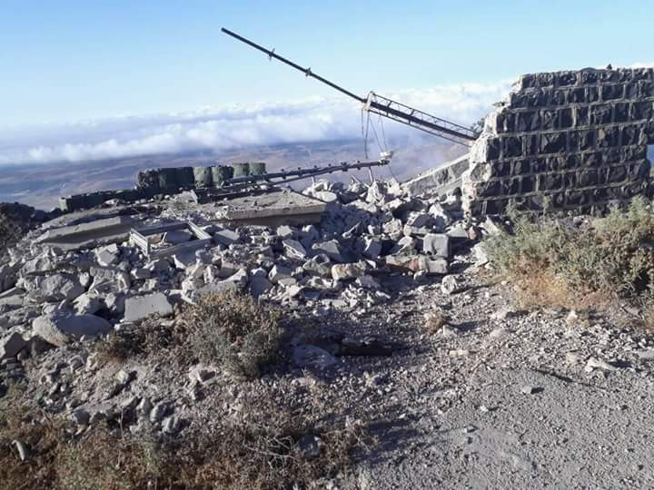 Photo of New Israeli aggression on military posts in Quneitra countryside