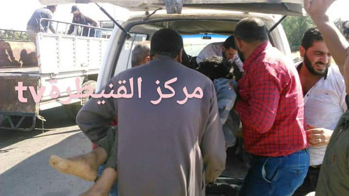 Photo of Terrorist shelling attack on al-Baath city in Quneitra