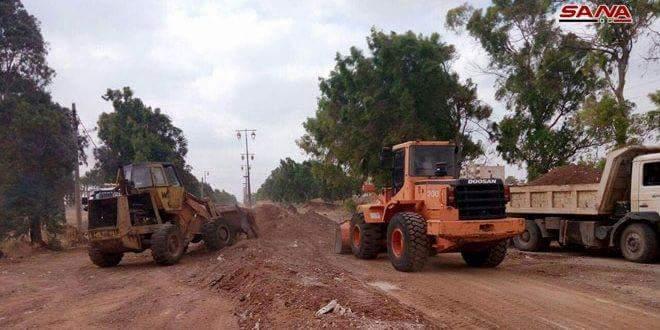 Photo of Rehabilitation work of Daraa-al-Yadouda Road begins