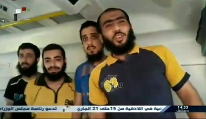 Photo of Five abductees held by terrorists in Daraa al-Balad freed