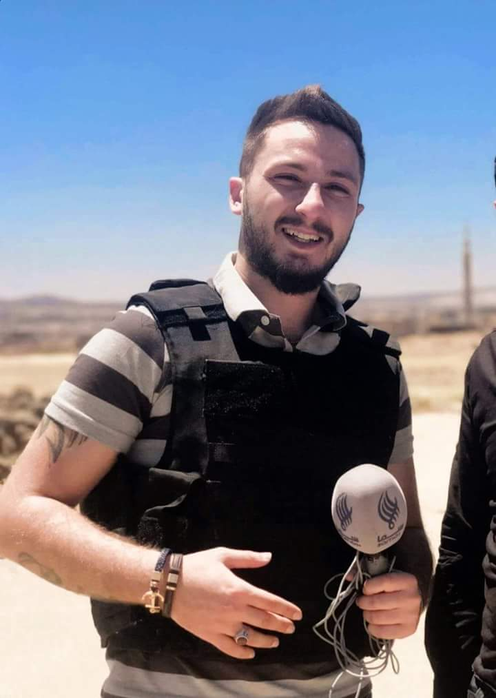 Photo of The correspondent of the Syrian channel SAMA TV, Mustafa Salameh, was martyred