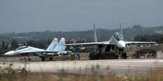 Photo of Russian air defenses down UAV in Hmeimim