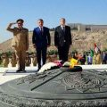 South Ossetia's President tours Old City of Damascus