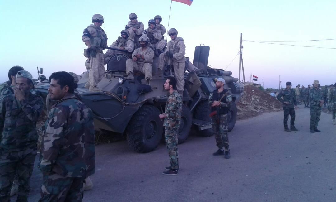 "Photo of "" بصرى الشام"" بدرعا تسلم أسلحتها للجيش"