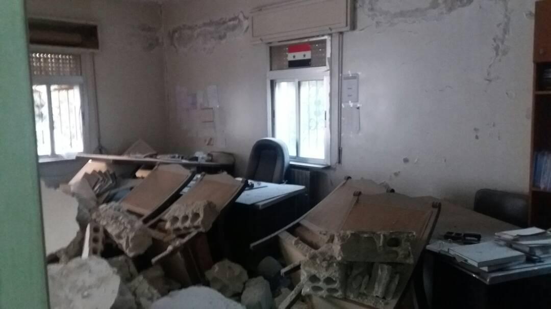 Photo of Acivilian injured in terrorist attacks in Quneitra