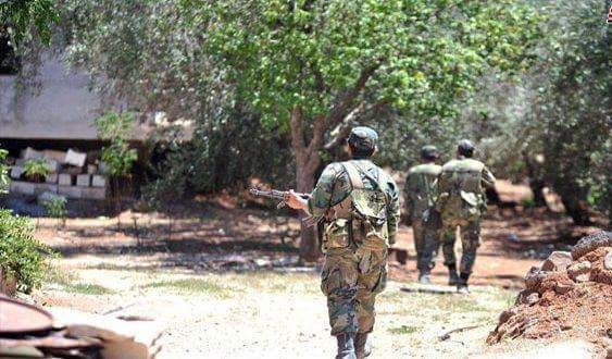 Photo of Syrian army cuts off terrorists' supply routes in Daraa