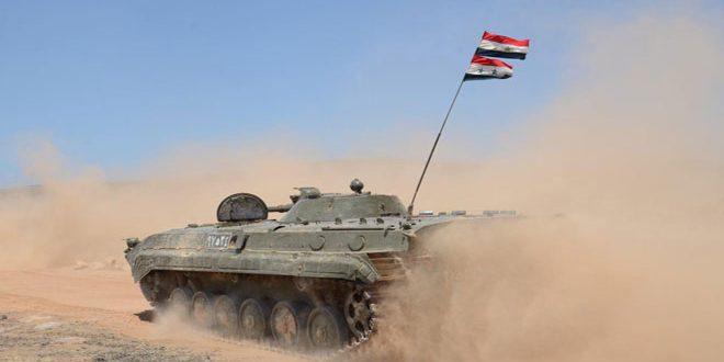"Photo of الجيش يٌدمر أوكاراً لنصرة في ""نبع الصخر"" بالقنيطرة"