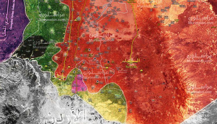 Photo of الجيش يحرر 10 قرى بريف درعا ويقترب من الحدود الأردنية