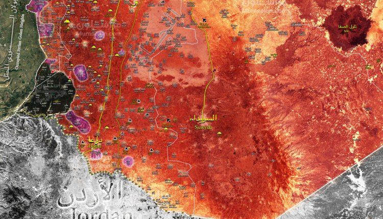 Photo of خريطة- الجيش يحرر بلدة الرفيد الحدودية مع الجولان المحتل