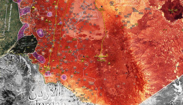 Photo of خريطة الجنوب: الجيش يحرر البلدات الحدودية مع الجولان السوري المحتل