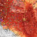 خريطة-  الجيش يٌحرر21 بلدة وقرية في ريفي القنيطرة ودرعا