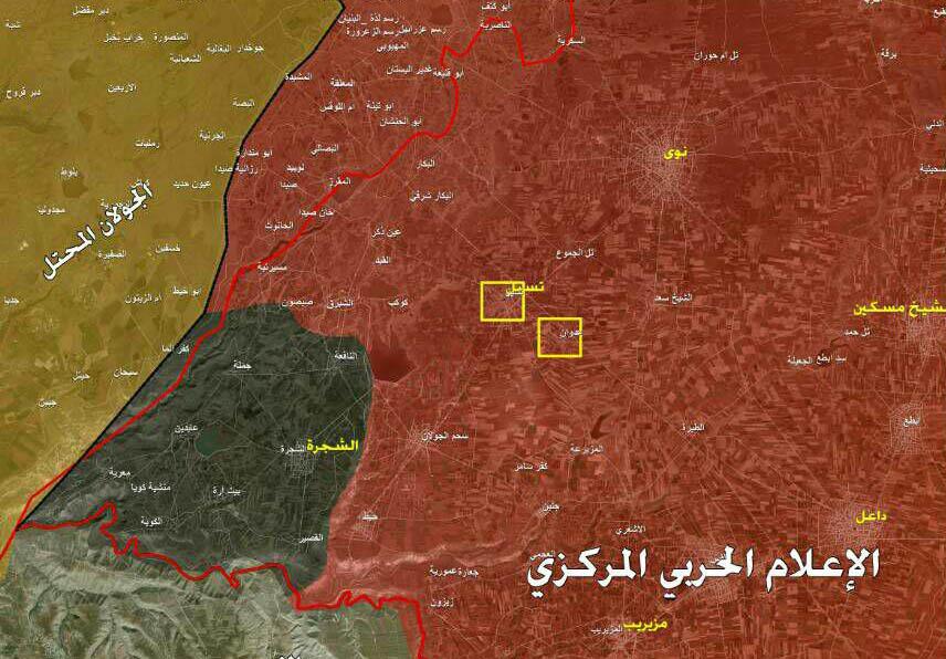 """Photo of الجيش يقترب من تحرير حوض اليرموك.. و""""الشجرة"""" آيلة للسقوط"""