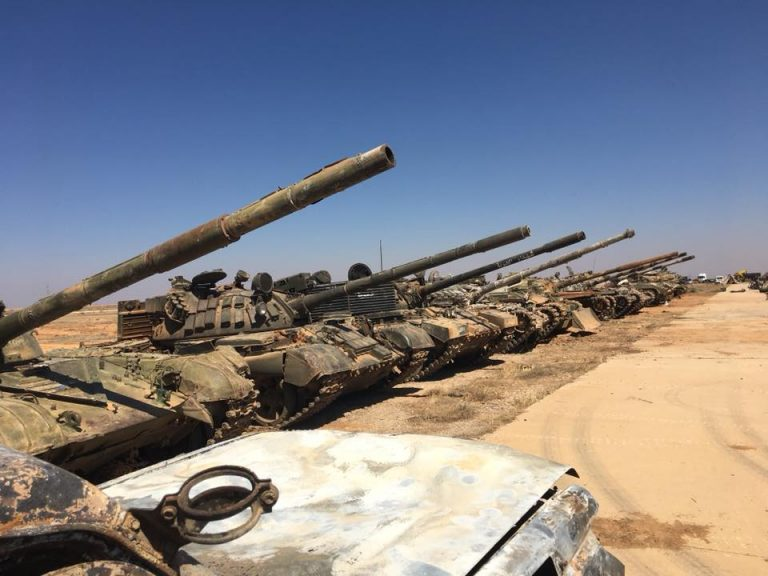 Photo of بالصور- العثور على ترسانة الأسلحة مخبأ تحت الأرض في بصرى الشام