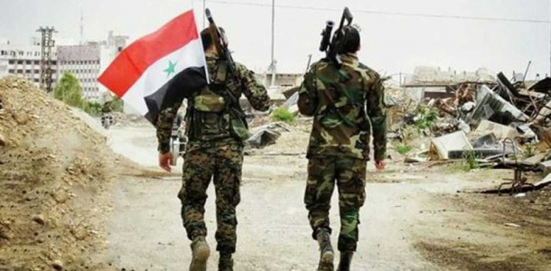 Photo of Syrian Army responded with bursts of explosive bullets to terrorist attack in Idleb
