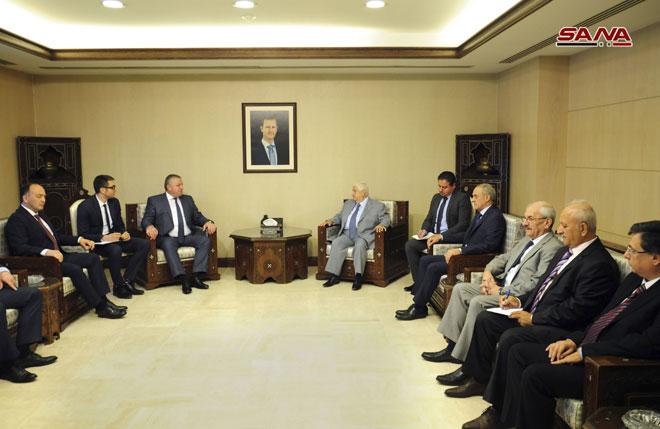 Photo of لقاءات ثنائية تجمع سوريا وأبخازيا