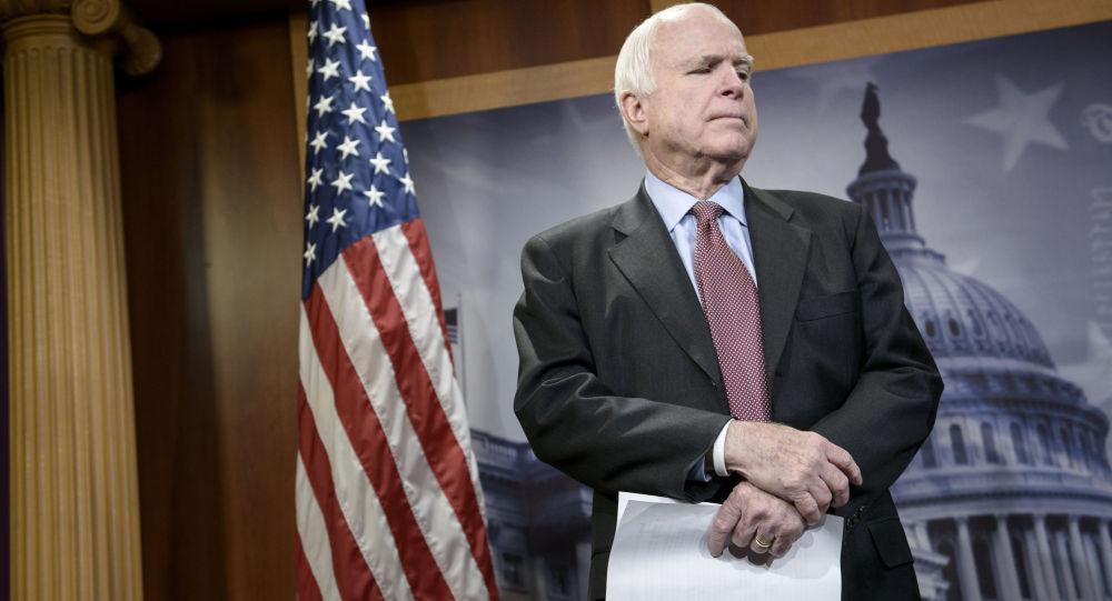 Photo of وفاة السناتور الأمريكي جون ماكين بسرطان الدماغ