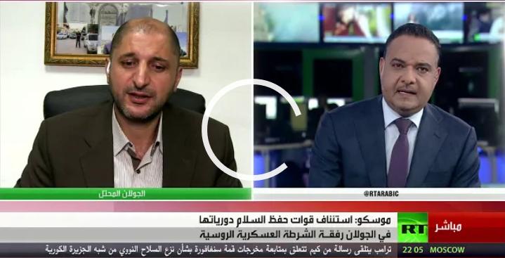 Photo of استئناف دوريات حفظ السلام بالجولان- تعليق الاعلامي عطا فرحات