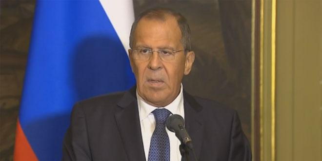 Photo of لافروف: موسكو مرتاحة لعودة لكون الجزء الأكبر من الأراضي السورية تم تحريره من الإرهابيين