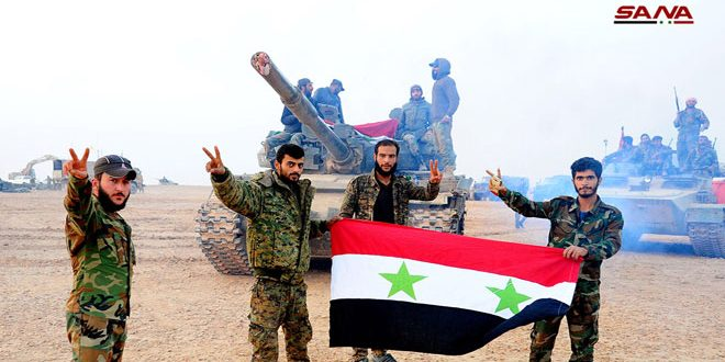 Photo of سقوط أخر معاقل داعش بحوض اليرموك بيد أسود الجيش