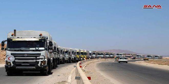 Photo of Three hundred thousands civilians received medical and relief services in Daraa countryside in a month