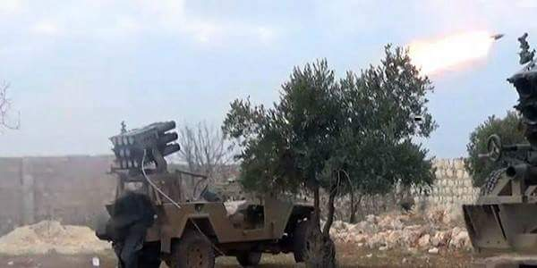 Photo of Syrian Army destroys vehicles for al-Nusra in Hama