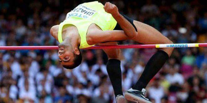 Photo of Syria's Ghazal wins bronze medal in 2018 Asian Games high jump