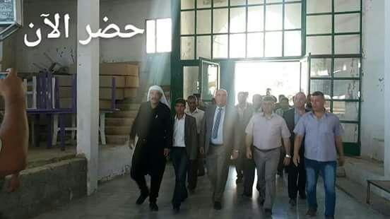 """Photo of وزير التموين يزور """"حضر"""""""
