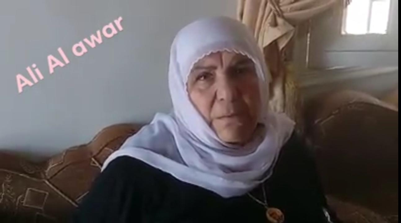 Photo of هكذا مرّ العيد الأول على والدة الشهيد القائد عصام زهر الدين