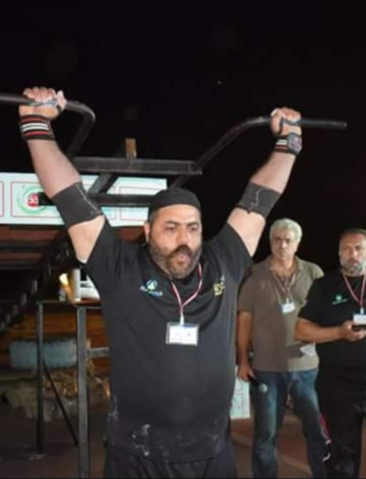 Photo of محمود أديب مذكور فاز بلقب أقوى رجل في سوريا