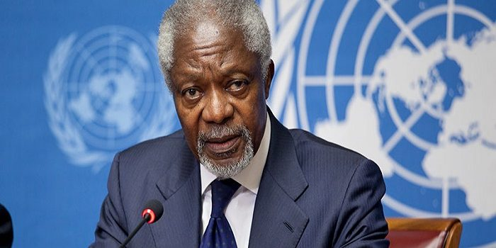 Photo of وفاة الأمين العام السابق للأمم المتحدة كوفي عنان