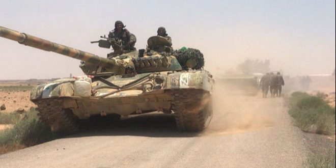 Photo of Syrian Arab Army kills terrorists, destroys two vehicles in Hama countryside