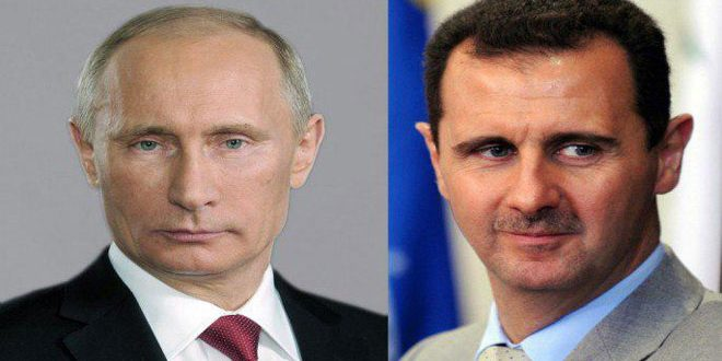 Photo of President al-Assad sends cable of condolence to President Putin on the martyrdom of Russian soldiers