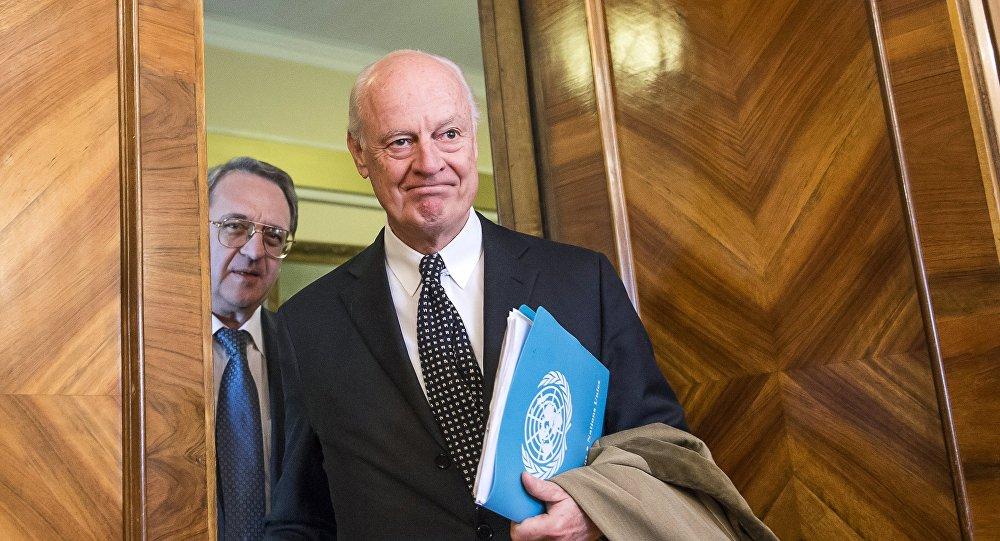 Photo of نائب وزير الدفاع الروسي يلتقي مع نائب دي ميستورا لمناقشة الوضع في سوريا