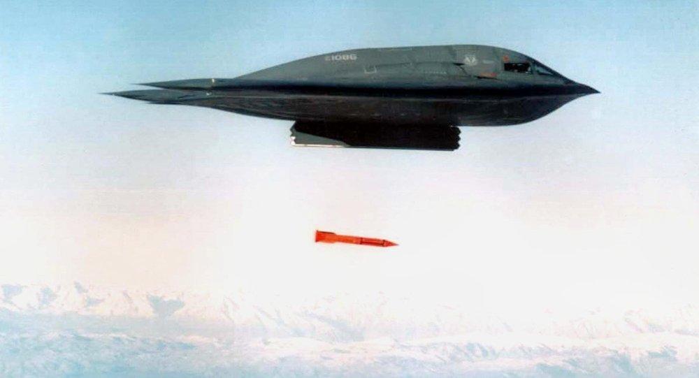 "Photo of الولايات المتحدة تنشر قاذفات ""بي -2"" بالقرب من الصين"