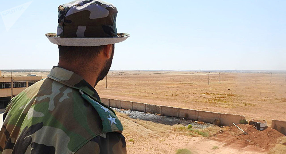 Syrian Arab Army targets positions of Jabhat al-Nusra terrorists in al-Jisat town in retaliation to their attacks in Hama countryside